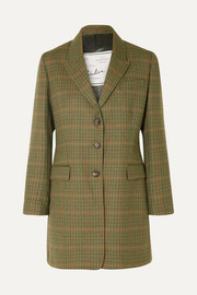 Giuliva Heritage Collection Karen checked wool blazer