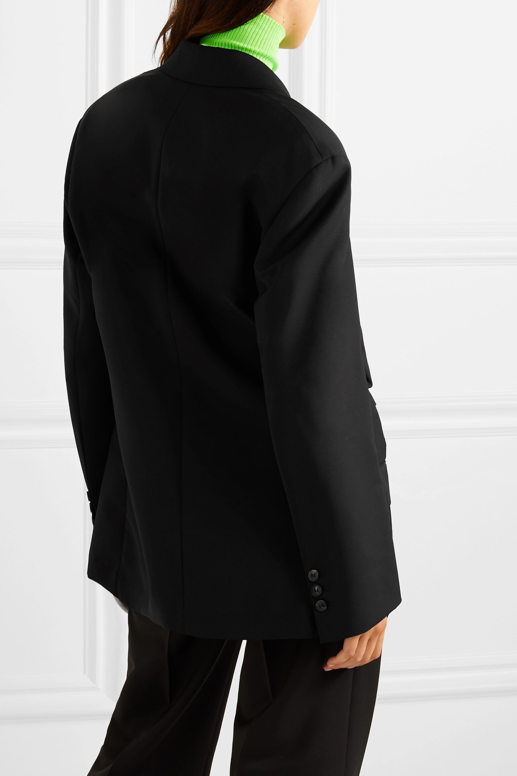 Acne Studios Wool and mohair-blend blazer