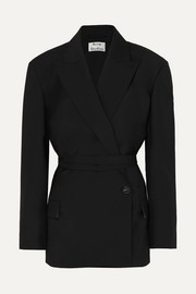 Acne Studios Jess wool and mohair-blend blazer