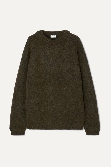 Army green Oversized knitted sweater   Acne Studios 415xQg
