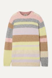 아크네 스튜디오 Acne Studios Kalbah striped knitted sweater