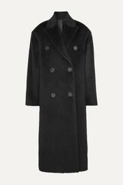 아크네 스튜디오 Acne Studios Octania oversized double-breasted alpaca and wool-blend coat