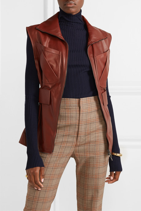 Lorique leather vest
