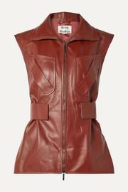 아크네 스튜디오 Acne Studios Lorique leather vest