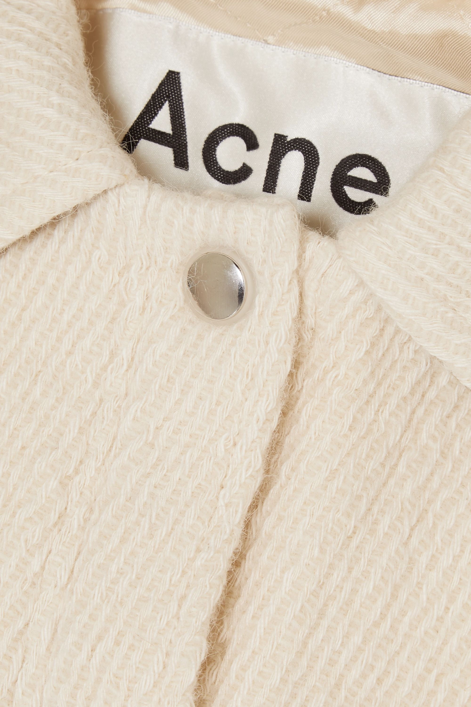 Acne Studios Ocilia Jacke aus einer Mischung aus Baumwolle, Wolle und Alpakawolle