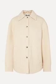 아크네 스튜디오 Acne Studios Ocilia cotton, wool and alpaca-blend jacket