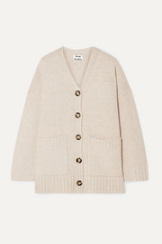 Kanita oversized wool-blend cardigan