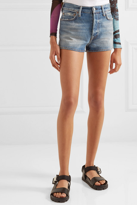 Magee denim shorts