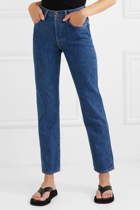 1997 organic high-rise straight-leg jeans