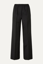 Pammy wool and mohair-blend wide-leg pants