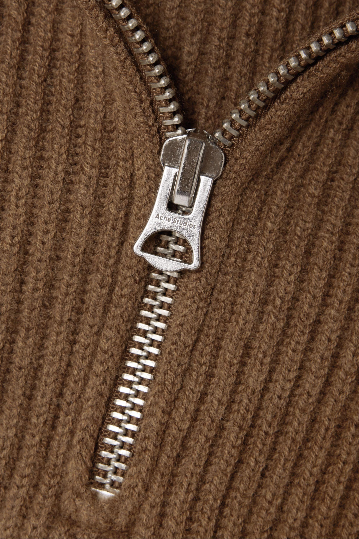 Acne Studios Kelanie Pullover aus einer gerippten Wollmischung