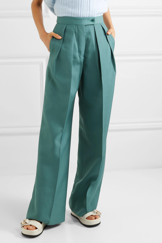 Acne Studios Pristine woven wide-leg pants