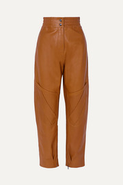 Acne Studios Louiza leather tapered pants
