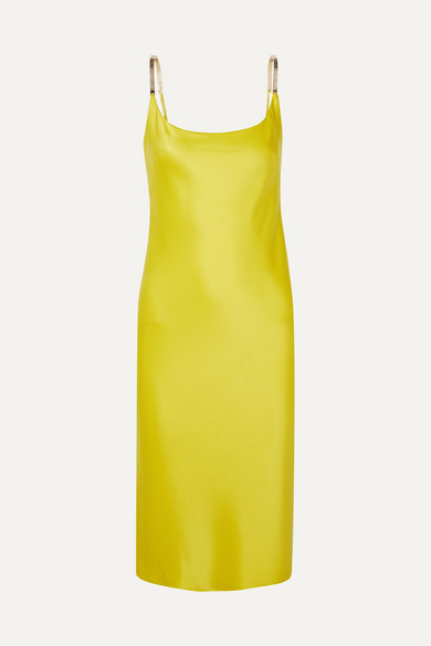 Christiane Satin Dress by Galvan