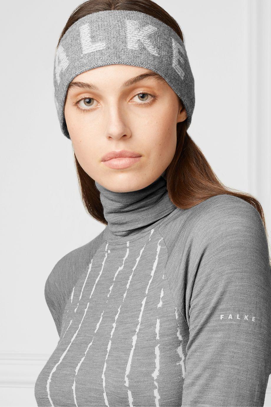 FALKE Ergonomic Sport System Wool-blend jacquard headband