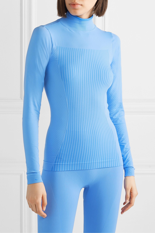 FALKE Ergonomic Sport System Stretch-knit turtleneck top