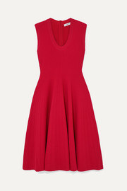 CASASOLA Ribbed-knit dress