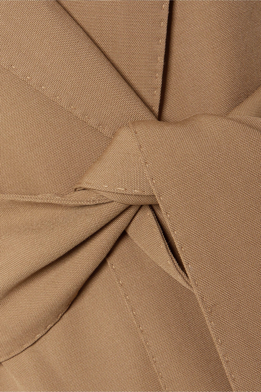 CASASOLA Belted grain de poudre wool blazer