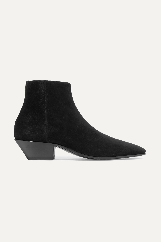 Jonas suede ankle boots | SAINT LAURENT