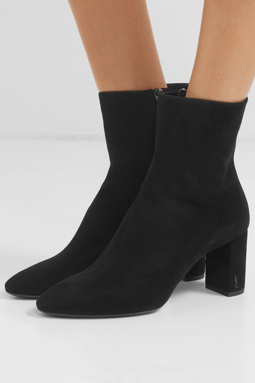 Lou suede ankle boots | SAINT LAURENT