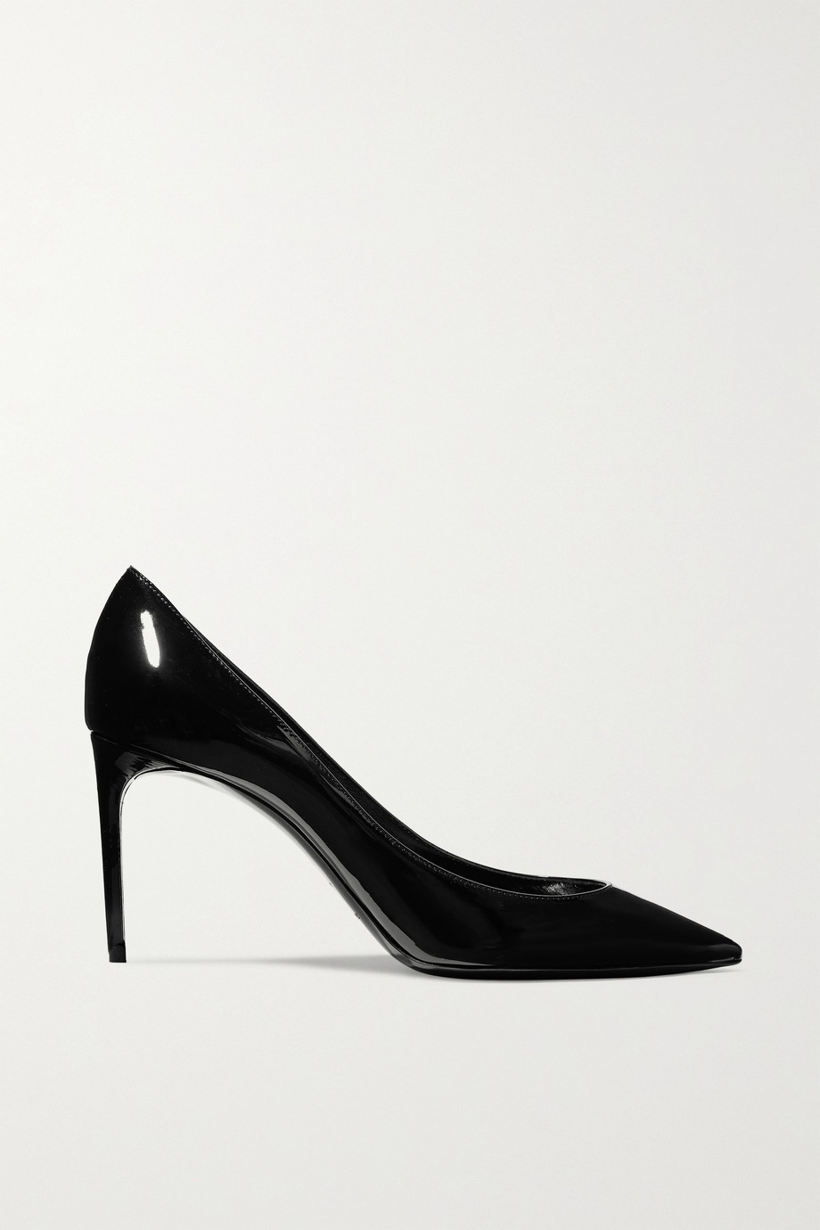 SAINT LAURENT Zoe patent-leather pumps