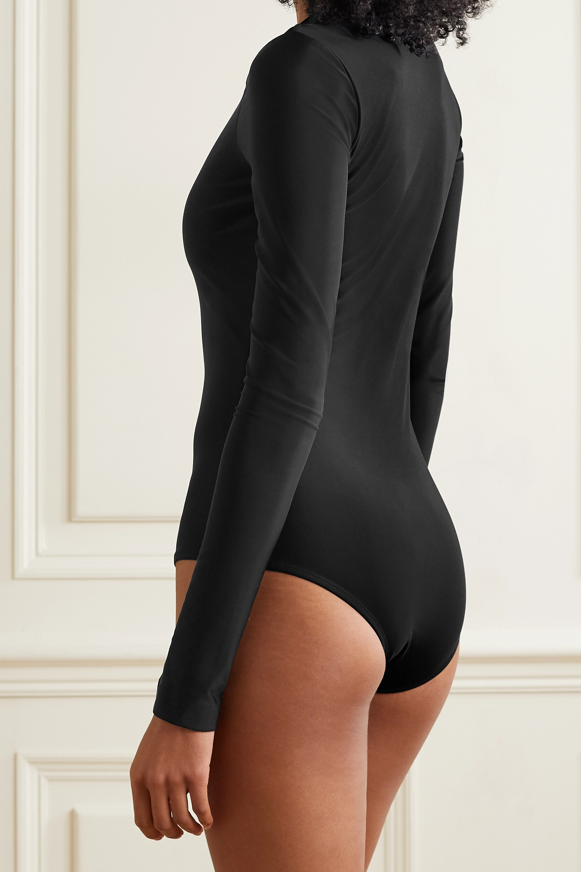 Cover + NET SUSTAIN stretch recycled swimsuit