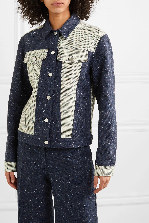 JW Anderson Paneled bouclé jacket