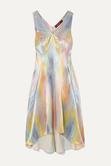 Sies Marjan Dresses Miriam printed satin midi dress