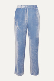 Sies Marjan Willa silk and cotton-blend corduroy pants