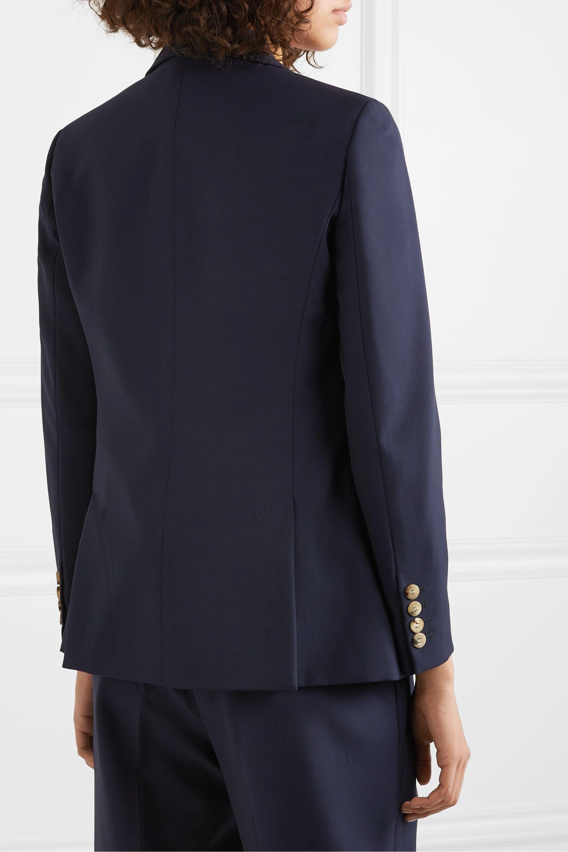 CASASOLA Doppelreihiger Blazer aus Wolle
