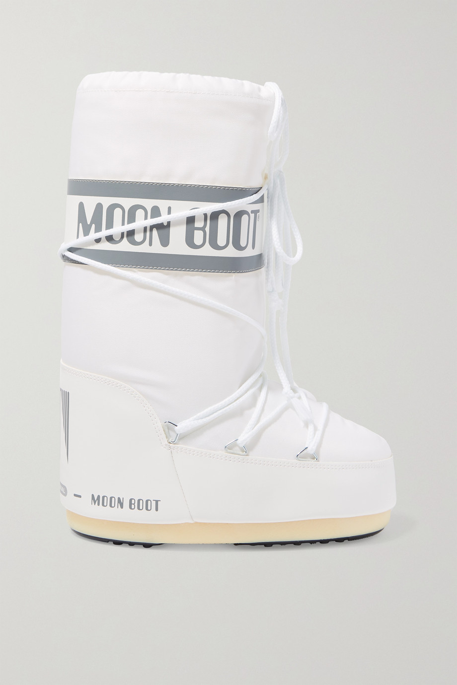 Moon Boot Shell and faux leather snow boots