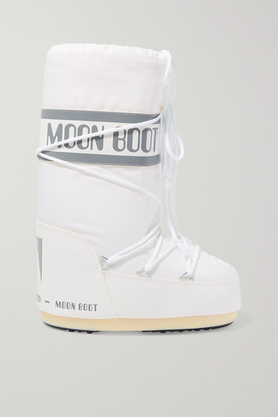 Moon Boot Boots SHELL AND FAUX LEATHER SNOW BOOTS