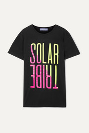 Paradised Solar Tribe printed cotton-jersey T-shirt