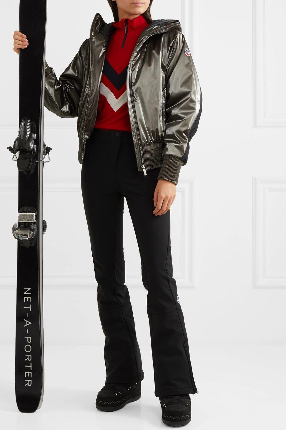 Fusalp Melly hooded luminescent ski jacket
