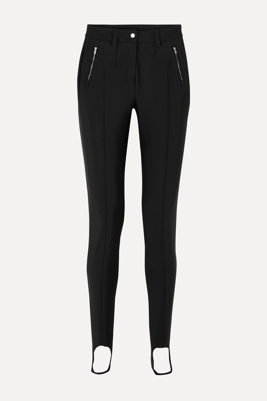 Fusalp Black Ski Stirrup Trousers