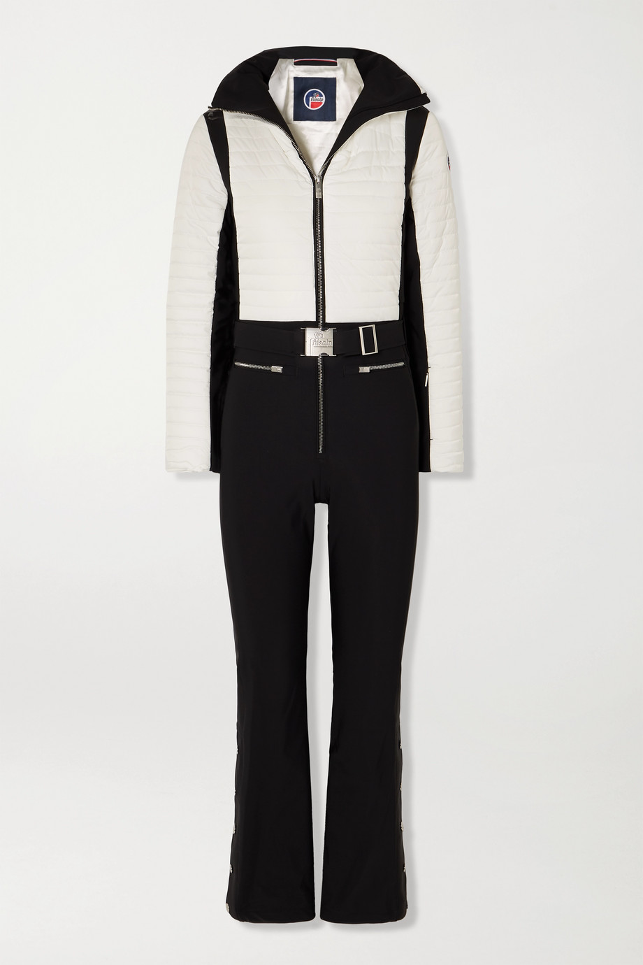 Fusalp Crouze two-tone quilted ski suit