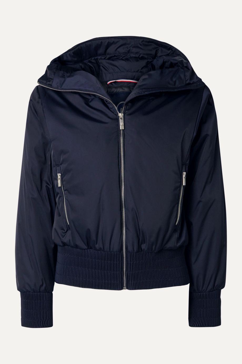 Fusalp Melly velvet-trimmed hooded ski jacket