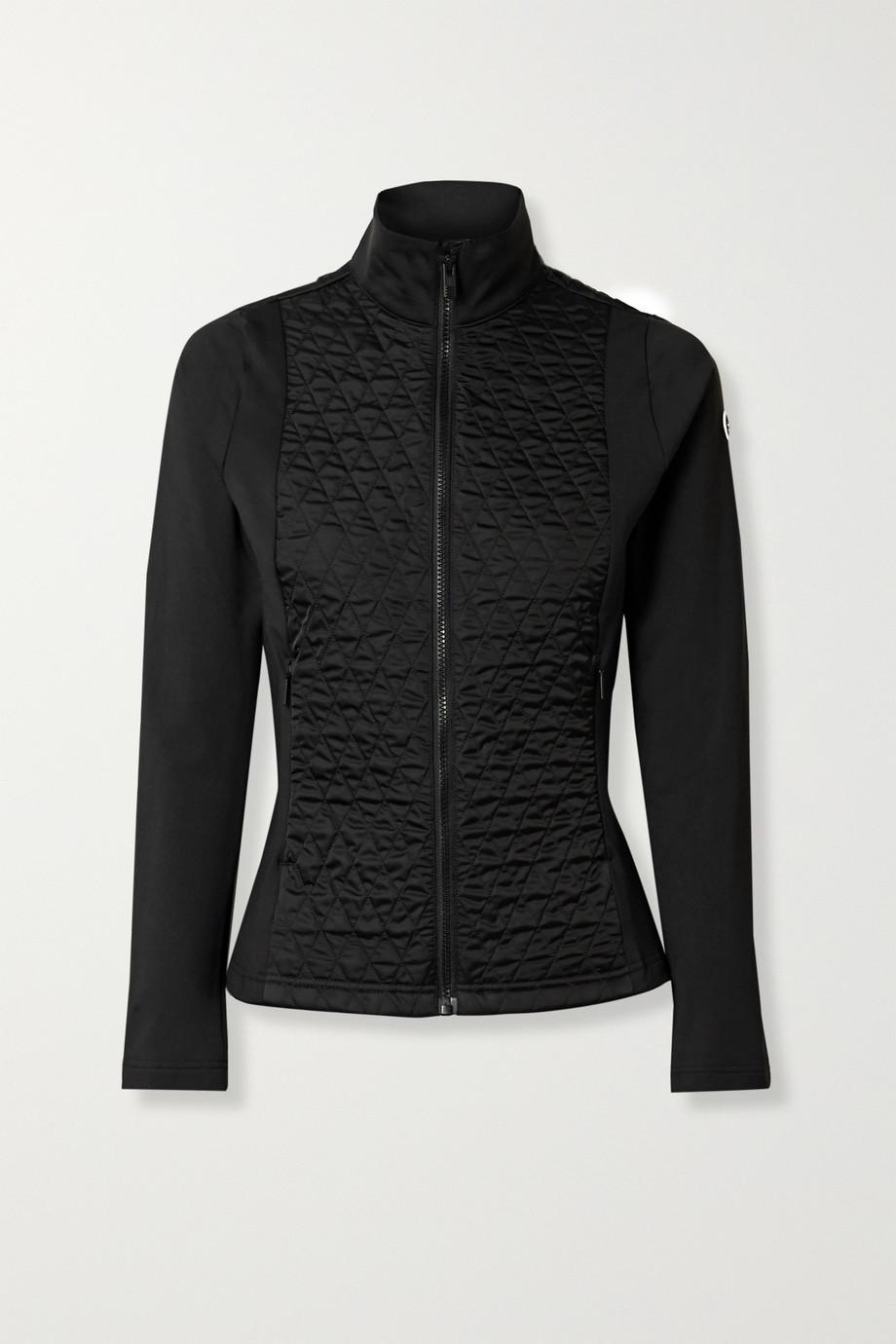 Fusalp Hermine quilted paneled stretch-jersey ski jacket