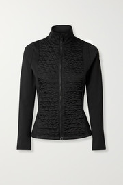 Fusalp Hermine quilted paneled stretch-jersey ski jacket