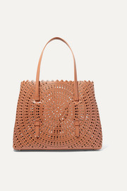 Alaïa Medium laser-cut leather tote