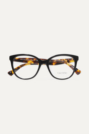 Valentino Garavani D-frame acetate optical glasses