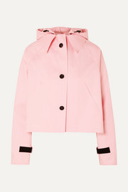 Kassl Editions Cropped cotton-blend shell jacket