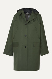 Kassl Editions Hooded canvas coat