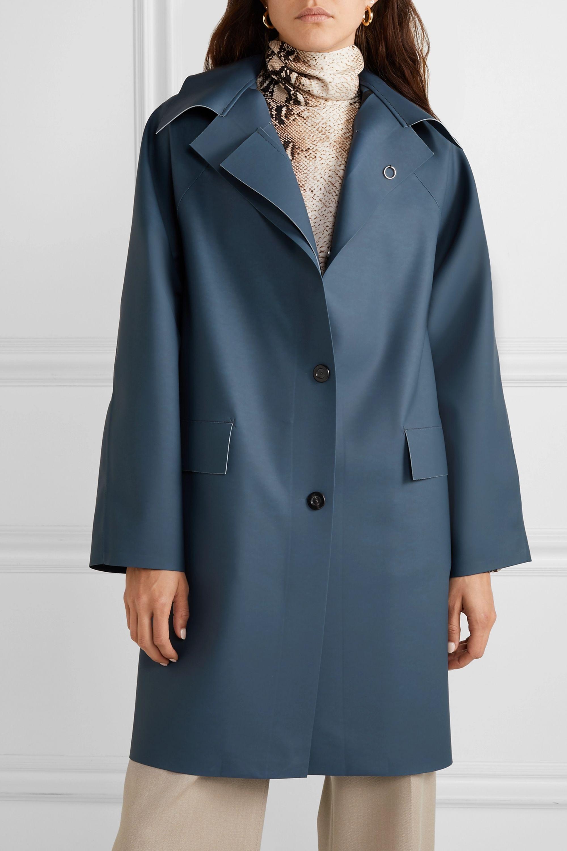 Kassl Editions Matte-PU coat