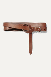 Isabel Marant Judd leather waist belt