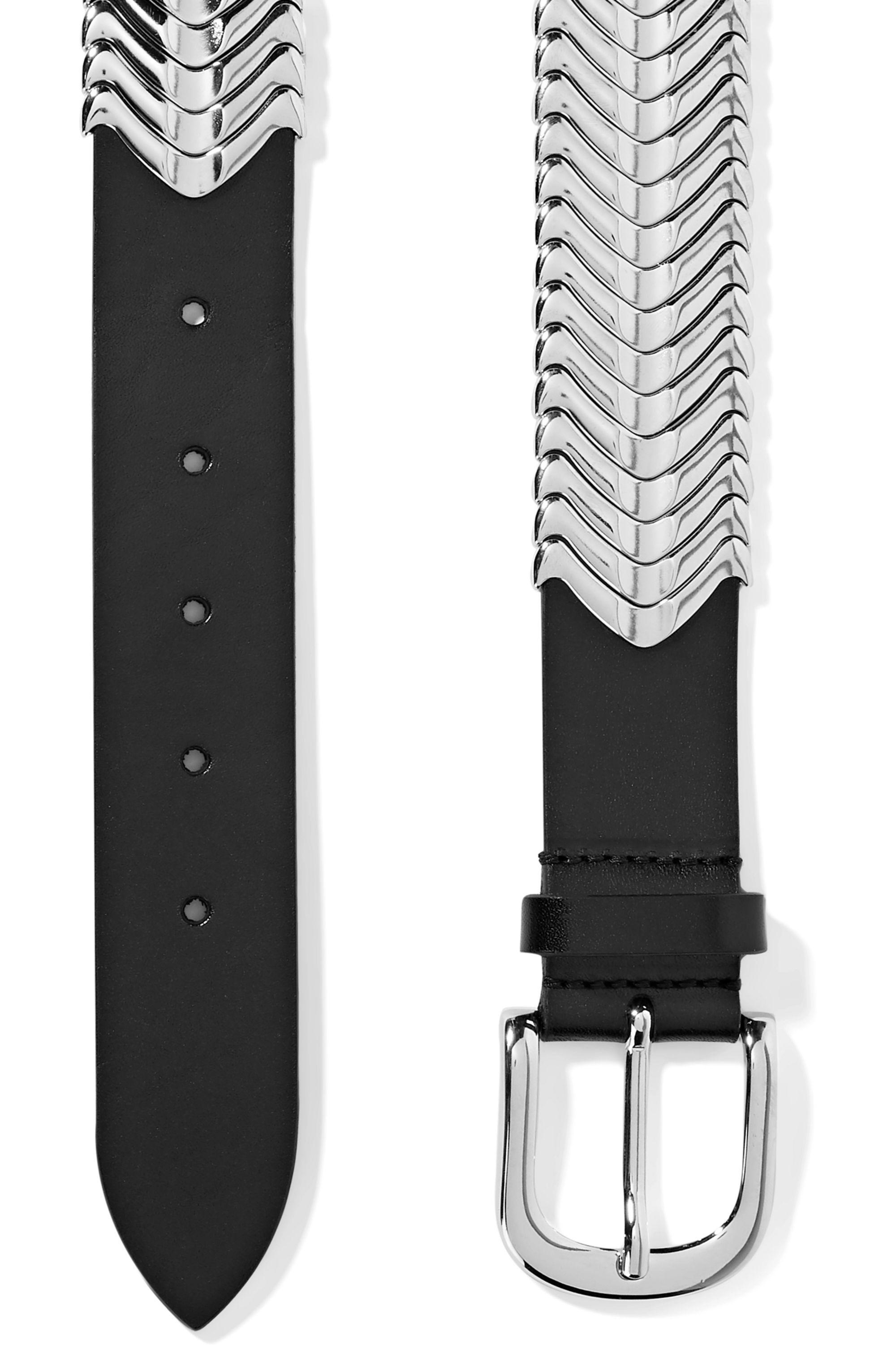 Isabel Marant Tehora embellished leather belt