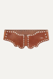 Isabel Marant Koya studded leather waist belt