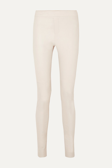 Snipe Leather Skinny Pants by Remain Birger Christensen