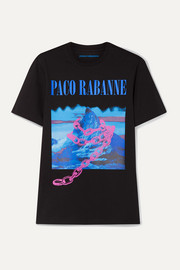 Paco Rabanne Montagne printed cotton-jersey T-shirt