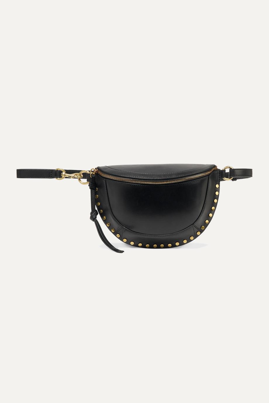 Isabel Marant Sac ceinture en cuir à clous Skano